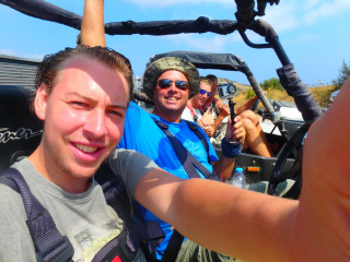 Quad safari op Kreta