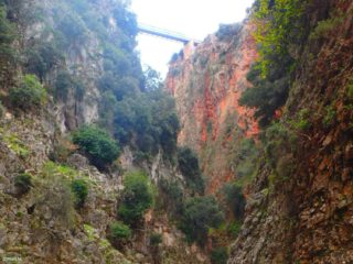 Aradena bridge crete