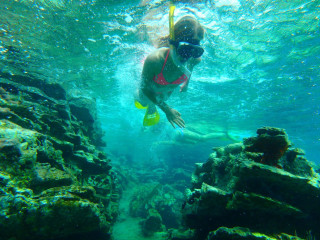 Snorkel excursion ON cRETE GREECE 2016 - ZORBAS