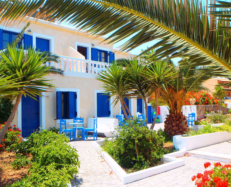 Zorbas Island apartments on Crete Greece in Kokkini Hani