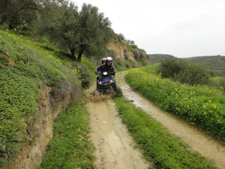 quad safari in de winter op kreta griekenland 20140308 off road op Kreta0559