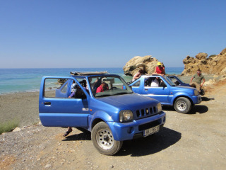 Car rental for more days and stay on Crete