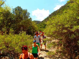 hiking on crete 1286