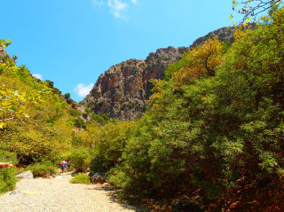 hiking on crete 1288