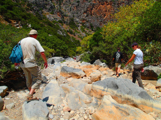 hiking on crete 1296