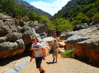 hiking on crete 1312