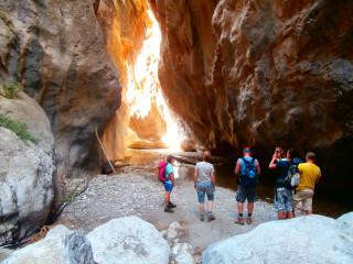 03 Walks and hikes in Crete east Sarakina gorge5689