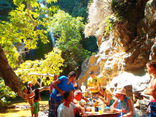 Richtis Kreta GriekenlandRichtis gorge canyon crete greece 1069
