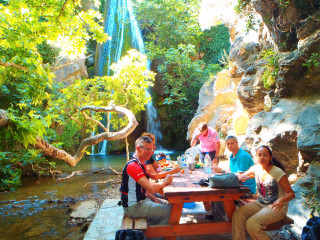 Richtis Kreta GriekenlandRichtis gorge canyon crete greece 1077