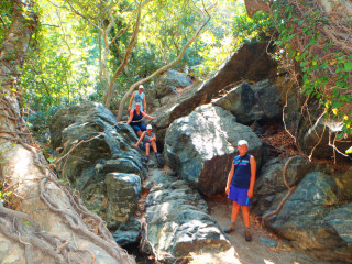 Richtis Kreta GriekenlandRichtis gorge canyon crete greece 1090