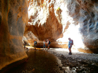 Walks and hikes in Crete east Sarakina gorge5693