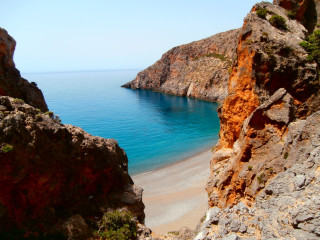 hiking greek islands farango crete3816
