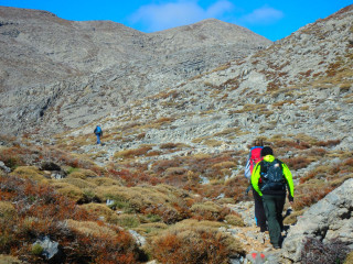 Walking-to-Ida-Crete-Greece