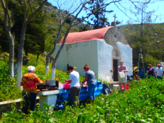 Greek cooking lessons Crete 8158