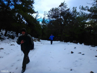 hiking-in-the-snow-in-Crete-Greece