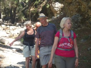 samaria gorge and walking in crete 6112