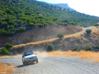 Jeep safari on Crete Greece