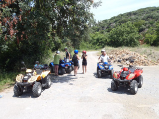 Kreta Quad tour Break