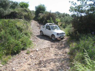 Kreta jeep safari of road