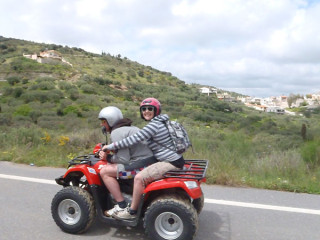 Kreta quad tour tweepersoons