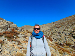 Ida-hiking-on-Crete-2016