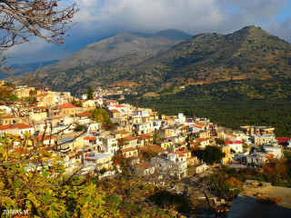 Limnes active walking in Crete greece