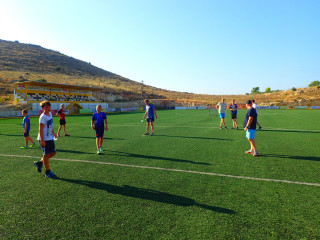 football in crete greece 1027