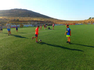 football in crete greece 1028