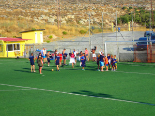 football in crete greece 1029