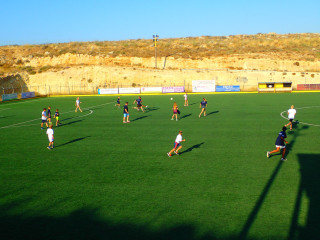football in crete greece 1033
