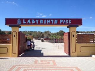 Labyrint park on crete