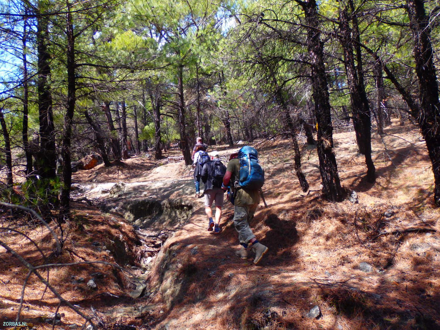Nature Hiking Holidays Zorbas Island Apartments In