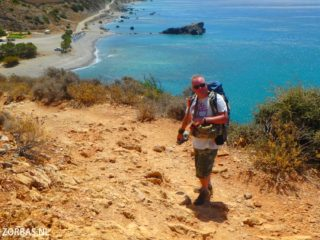 walking in south crete 5000